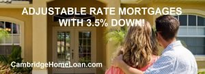 Adjustable Rate Mortgages With 3.5% Down