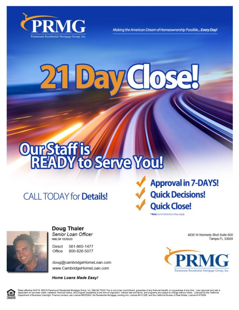 Home Loan closing