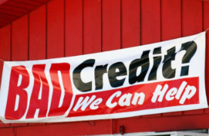 bad credit home loan banner