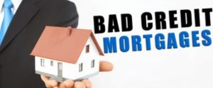 mortgages with people with bad credit